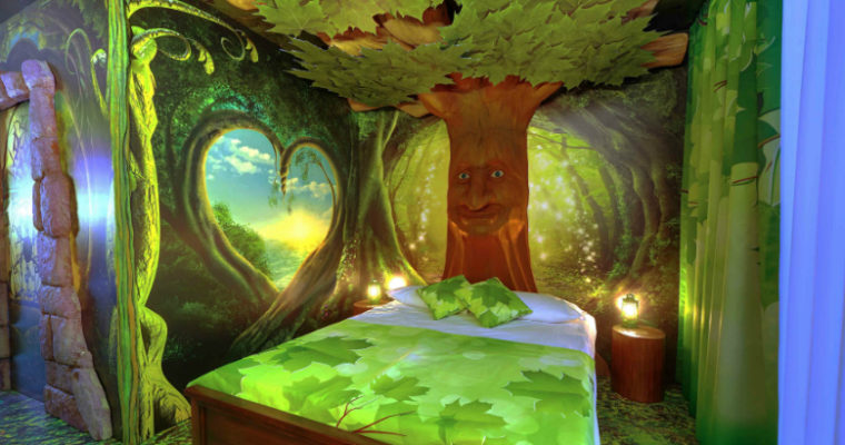 "Gardaland Magic Hotel: ecco la camera ""Foresta Incantata"""