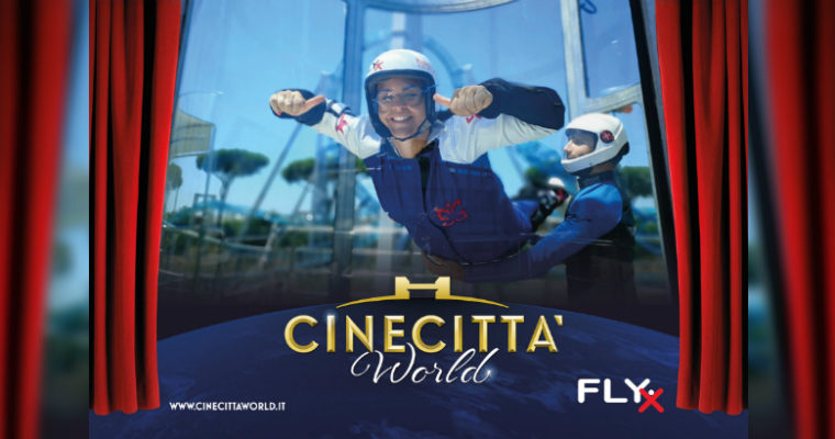 Fly X: a Cinecittà World arriva il paracadutismo indoor